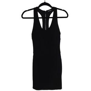 Bebe Razor Back Bodycon Dress